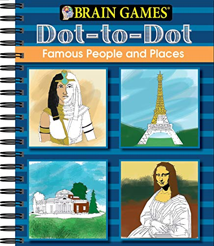 Brain Games - Dot to Dot: Famous People and Places
