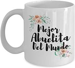 Best Mejor Abuelita Del Mundo - Grandma Mug Gift in Spanish -Gift For Spanish Grandma Review