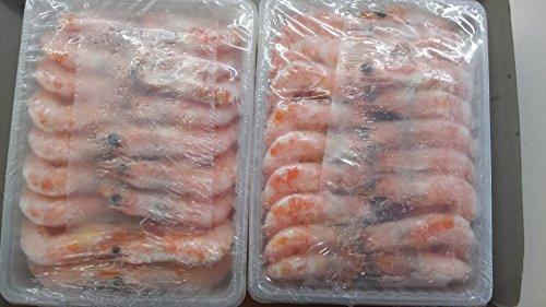 有頭 グルムキ 海老 21-25 VM 1kg ( 66尾 ) ボイルえび 解凍後そのままお召し上がり頂けます。 中むき