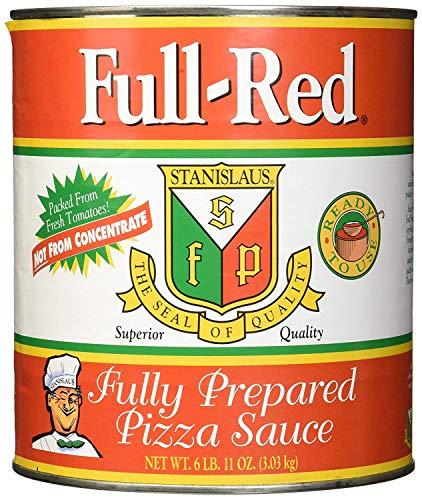 Full Red Fully Prepared Pizza Sauce #10