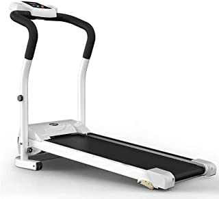 ZXCVBNM Fold Installation-Free Heart Rate Ultra-Quiet Treadmill, Non-Slip Shock Absorption, 50CM Wide Running Table, 2.0HP Silent Motor, Can Bear 120KG,