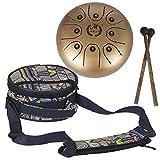 supertop Mini Steel Percussion Instrument - ideal für Camping, Yoga, Meditation, Musiktherapie - D...