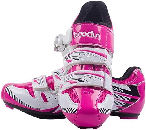 CWXDIAN Chaussures de Cyclisme vélo de Route vélo de Montagne vélo Serrure à Double Usage Chaussures Chaussures de vélo, autorute, 39