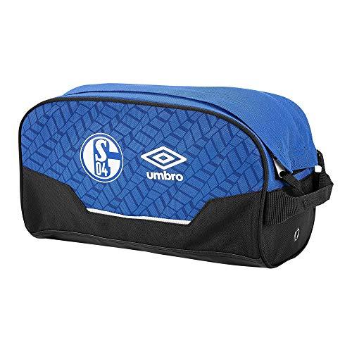 UMBRO Schalke 04 - Bolsa para botas (talla única), color azul