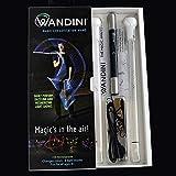 Wandini - Magic LED Levitation Wand Amazing Lights Flow Levi Wand - Short String Light Up LED Toy Baton Dancing Cane