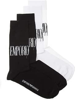 Emporio Armani 2 Pack Crew Mens Socks Multi