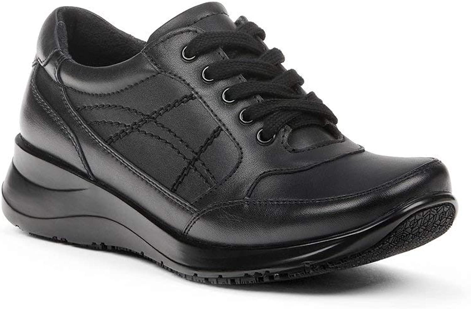 Yellow shoes - CALIBREE - Women's Slip Resistant Duty shoes - Perfect for Long Days at Work