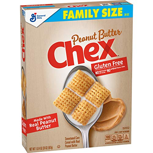 Chex Cereal, Peanut Butter, Gluten Free, 20 oz