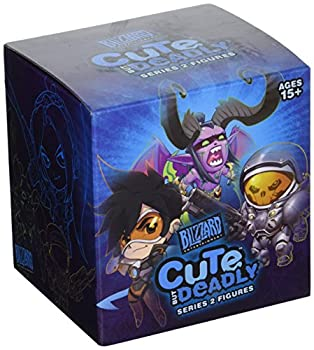 Blizzard Entertainment Cute But Deadly Series 2 Vinyl Figure Blind Box Contains  1 Random Figure from Overwatch Diablo World of Warcraft Or Starcraft