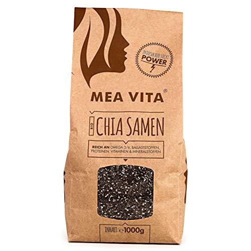 MeaVita Bio Chia Samen, 1er Pack (1 x 1000g)
