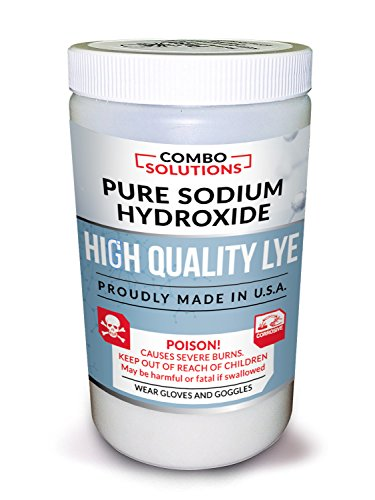 Combo Solutions Lye, 2 Pounds by Discoverosity
