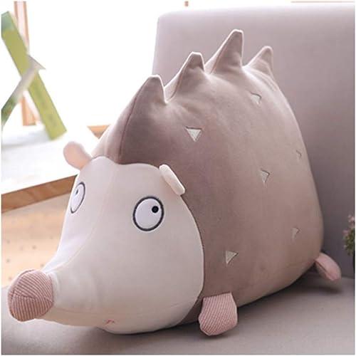 IIWOJ Mignon Animal Doux Peluche poupée, Simulation hérisson Coussin Coussin, décoration de la Maison Cadeau d'anniversaire Fille,70cm