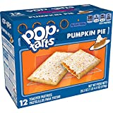 Pop-Tarts, Breakfast Toaster Pastries, Frosted Pumpkin Pie, Limited Edition, 20.3oz Box (12 Count)