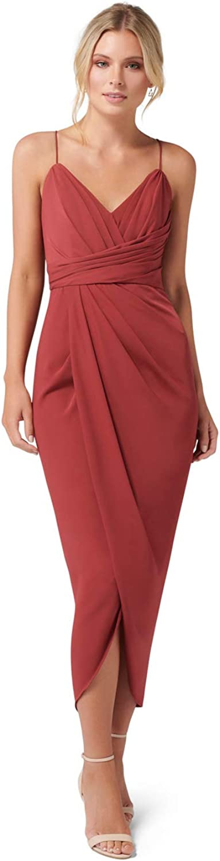 Ever New Womens Charlotte Drape Maxi Dress