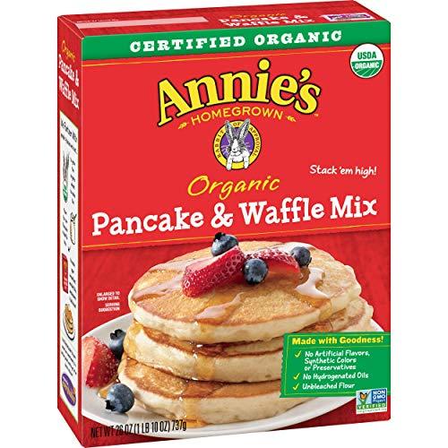 Annie#039s Pancake amp Waffle Mix Certified Organic nonGMO 26oz