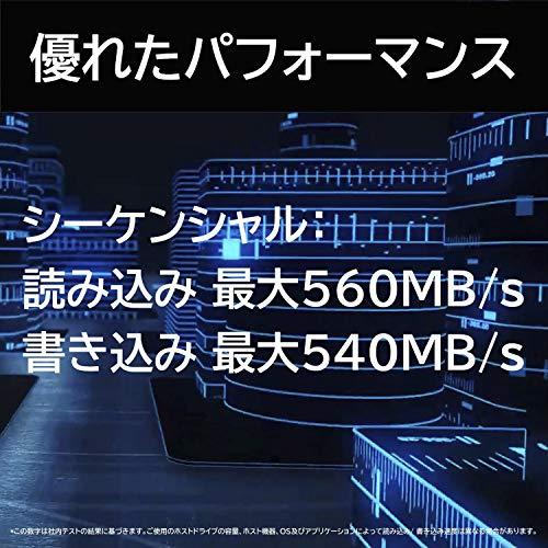 『Western Digital ウエスタンデジタル 内蔵SSD 250GB WD Blue PC M.2-2280 SATA WDS250G2B0B-EC 【国内正規代理店品】』の3枚目の画像