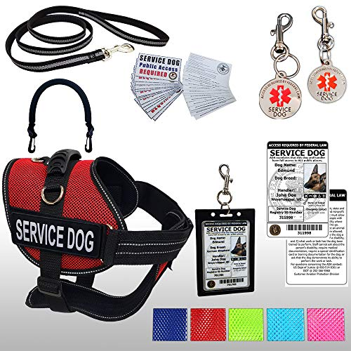 Mesh Service Dog Vest Harness