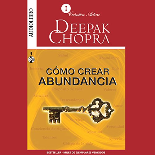 Cómo Crear Abundancia [Creating Affluence] audiobook cover art