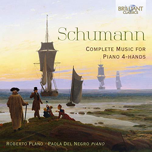 12 vierhändige Klavierstücke für kleine und große Kinder, Op. 85: III. Gartenmelodie