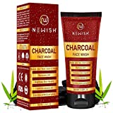 Newish® Charcoal Face Wash for Daily Use 100gm | Anti Pollution & Antibacterial oils for face Nov, 2020