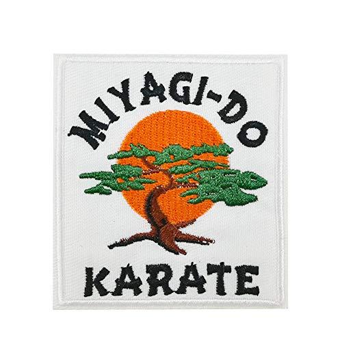 Miyagi-DO Karate-Bonsai-Baum, bestickt, zum Aufbügeln oder Aufnähen.