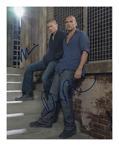Prison Break - Wentworth Miller & Dominic Purcell Signiert Autogramme 21cm x 29.7cm Plakat Foto