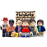 KikaToys - Kids Action Toys 6 Minifigures from Stranger Show | Playset Blocks Toys Figures for Kids