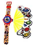 BeyBlade Watch with Projector,Children Watch,Multi Projector Watch,Official Licensed
