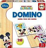 Educa Borras Wooden Dominos Mickey/ Minnie