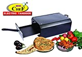 Mini Chef Electric Tandoor (Big Size) with Double Layer Non Stick Coated Tray + Food Warming Top Plate + Heat Proof Stand + 1 PC Magic Cloth Free