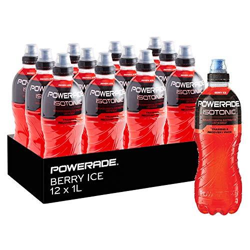 Powerade Berry Ice Sports Drink 12 x 1L