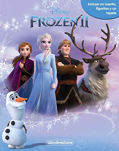 Frozen 2. Libroaventuras: Incluye un cuento, figuritas y un tapete