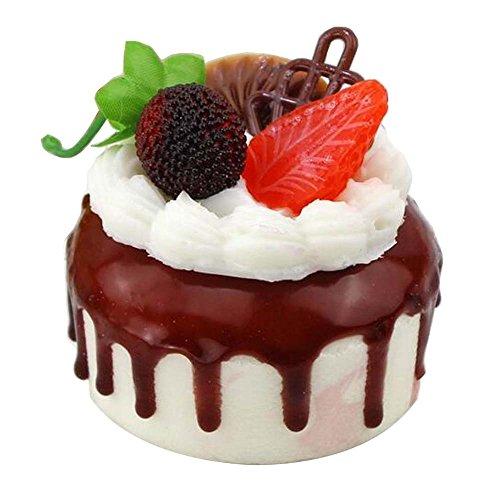 Blancho Set von 2 künstlichen Kuchen Fake Cake Model Fotografie Requisiten, Frucht