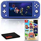 Nintendo Switch Lite (Blue) Gaming Console Bundle with...
