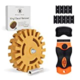 Whizzy Wheel and Plastic Blade Combo Decal Eraser Remover kit.