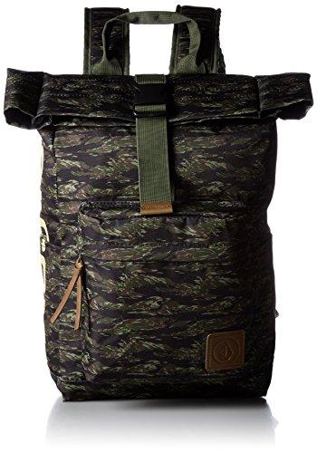 [ボルコム] リュック 16L (ロールトップ開閉) [ D65117JC / Rolltop Day S Backpack ] バッグ デイパック CAM One Size