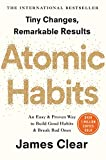 The cover of Atomic Habits by James Clear