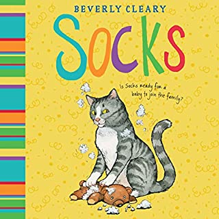 Socks audiobook cover art