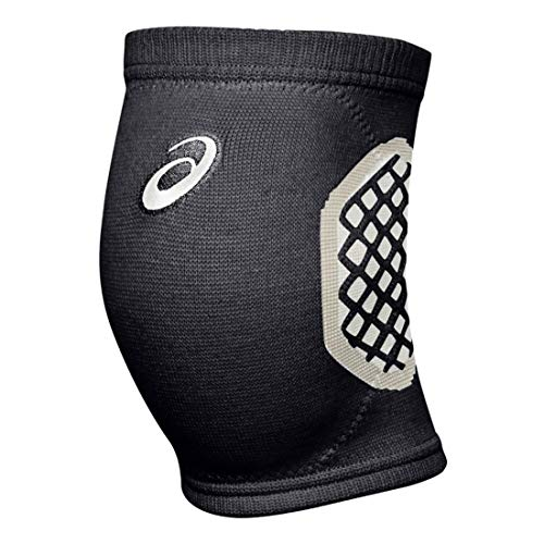 ASICS Gel-Tactic Court Volleyball Knieschoner, Unisex-Erwachsene, Gel-Tactic Court Volleyball Kneepad, Performance Black, Large/X-Large