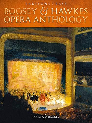 Boosey & Hawkes Opera Anthology - Baritone/Bass: Bariton (Bass) und Klavier.