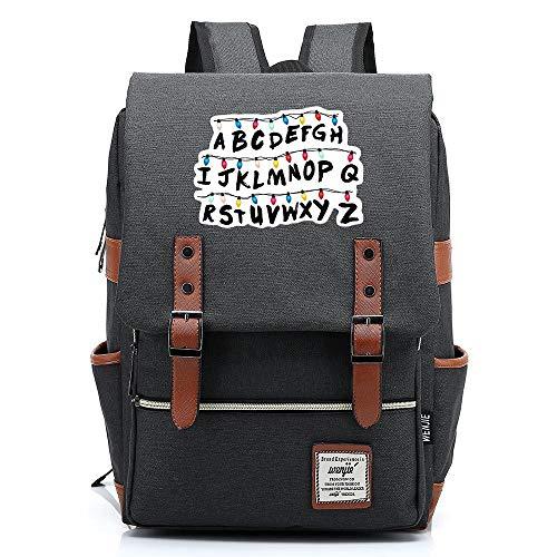 Stranger Things Casual Daypack, all aperto Oxford College School zaino, si adatta 15   Tablet portatile, Acqua Resistente 16 pollici. 05 Premere l immagine della scheda a colori.