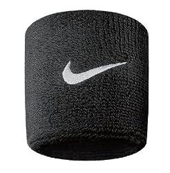 Nike Unisex Youth Wristband, Black / White, One Size