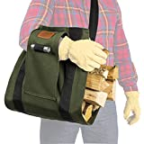 LogOX WoodOX Sling - The World's Most Ergonomic Firewood, Kindling, and Log Carrier - Designed in Vermont and Made in USA (Patented)