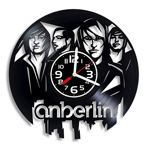 Luchko Decor Anberlin Music Vinyl Wall Clock, Anberlin Art, Anberlin Gift for Any Occasion