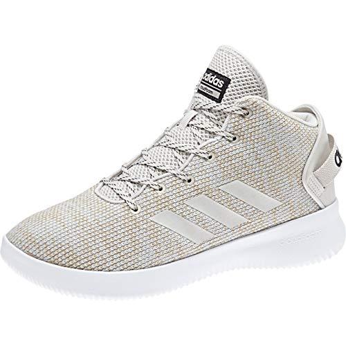 adidas Herren Cloudfoam Refresh Mid Hohe Sneaker, Beige (Talc/Carbon), 42 EU