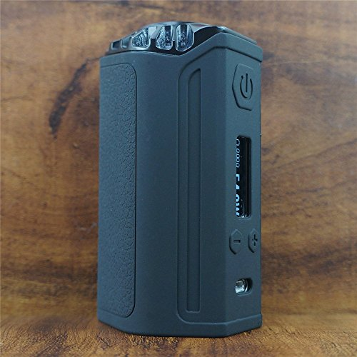 ModShield for Think Vape FINDER 250 TC DNA 250W Silicone Case ByJojo Skin Cover Sleeve Wrap (Black)