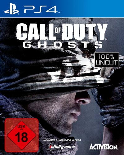Call of Duty: Ghosts (100{416a92079957baf1504182a41283ff6b9ec49e59a6702dd9f0eb1da82fb6daef} uncut) - [PlayStation 4]