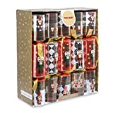 Toyland® Pack of 12 Large Luxury Soldier Christmas Crackers - Approx 33 x