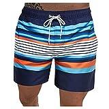 ShZyywrl Pantalones Cortos De Hombre Mens Summer Casual Fitness Culturismo Bolsillos Impresos Pantalones Cortos De Playa Pantalones Pantalones Cortos De Cintur