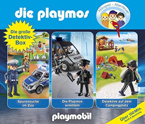 Die Playmos - Die große Detektiv Box (Original Playmobil Hörspiele)